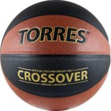 Мяч баскетбольный TORRES Crossover синтетическая кожа