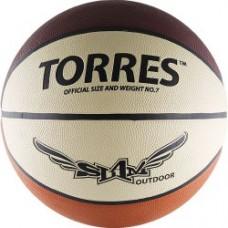 Мяч баскетбольный TORRES Slam Outdoor резина