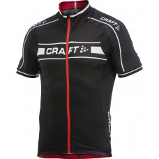 Футболка велосипедная мужская CRAFT Grand Tour черно-красный