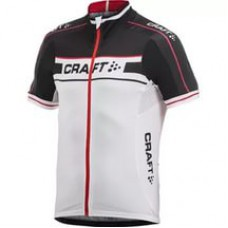 Футболка велосипедная мужская CRAFT Grand Tour черно-белый