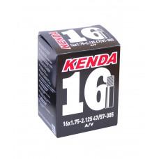 """Камера велосипедная KENDA 16""""x1.75 AV"""