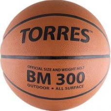Мяч баскетбольный TORRES BM300 резина