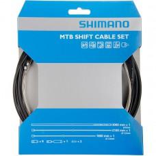 Трос скоростной+оплетка SHIMANO оплетка 3000мм тросс 1,2*1800/2100мм