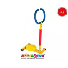 """Тренажер детский механический Moove&Fun """"Твистер"""" с ручкой"""